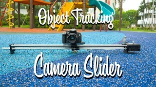 DIY Object tracking camera slider tutorial. 3D printed + built around the Arduino & RoboClaw
