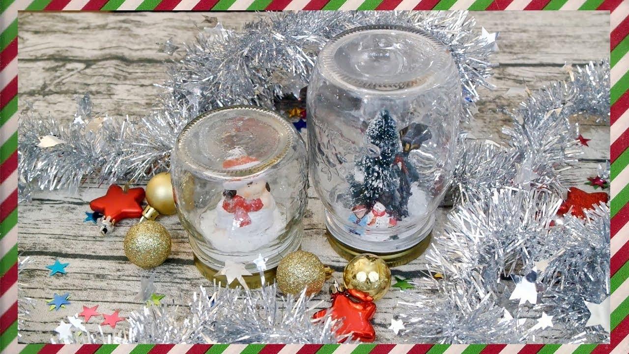Tự Làm Quả Cầu Tuyết Giáng Sinh – DIY Christmas Snow Globe | Taste From Home