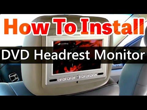 DVD Headrest Monitor Installation Video HD - Www.qualitymobilevideo.com