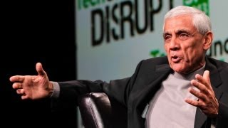 Vinod Khosla Keeps It Real | Disrupt SF 2013