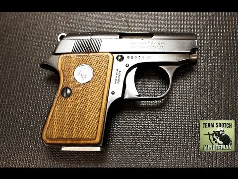 Colt Junior 25 ACP Pistol  Mighty Mouse