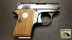 Colt Junior 25 ACP Pistol  Mighty Mouse