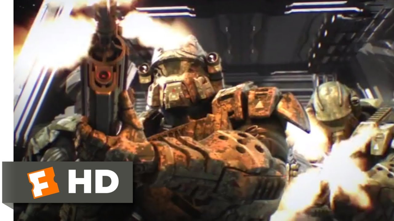 Download Starship Troopers: Invasion (2012) - Emergency Evacuation Scene (2/10)   Movieclips