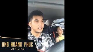 Ưng Hoàng Phúc hát cho vợ bầu nghe khi đang trên đường sang nhà Phạm Quỳnh Anh