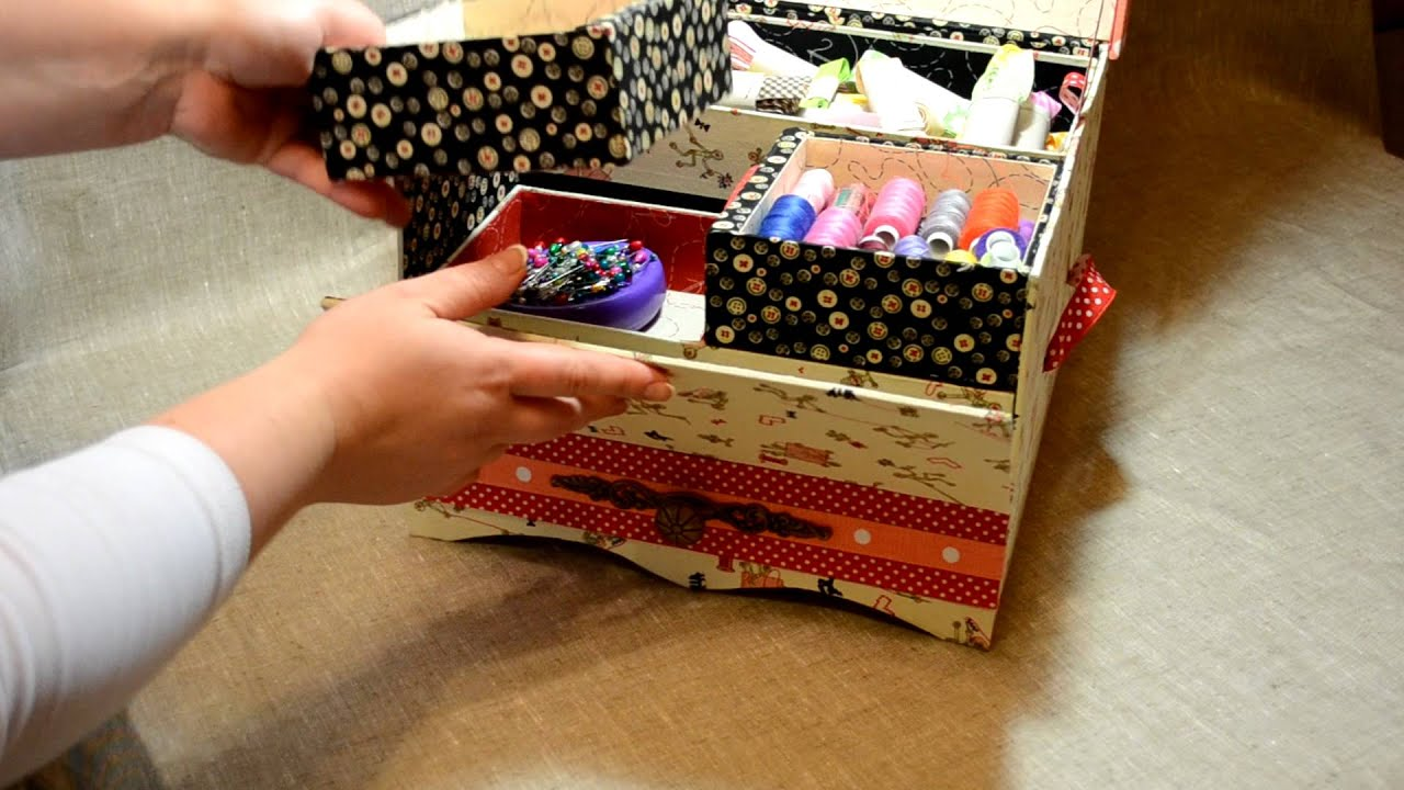 Ящик для рукоделия своими руками