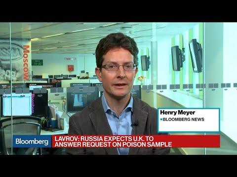 Russia's Lavrov Rejects U.K. Spy-Poisoning Ultimatum