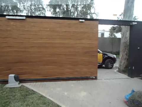 puerta corrediza de madera youtube