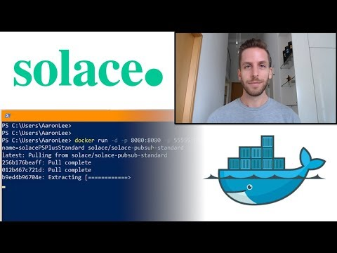 Getting Started with Solace PubSub+ for Docker