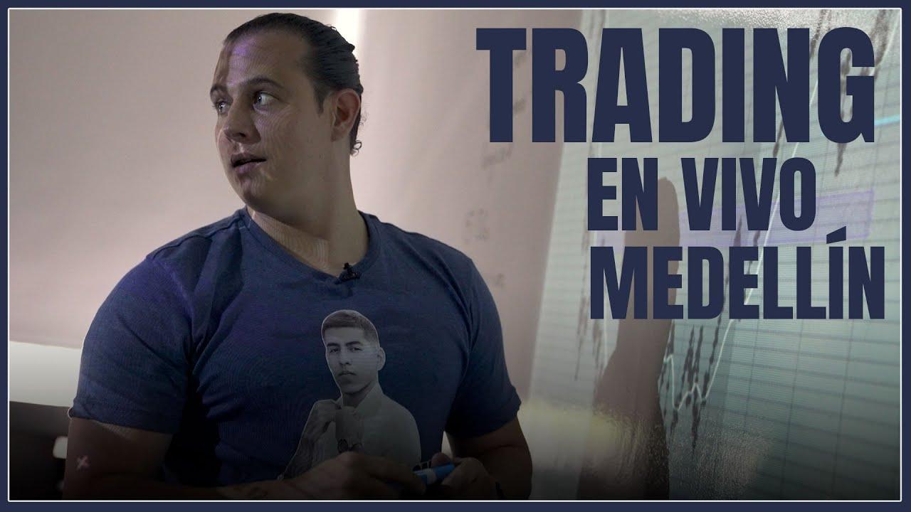 📈Seminario Presencial Medellín  -Trading en Vivo