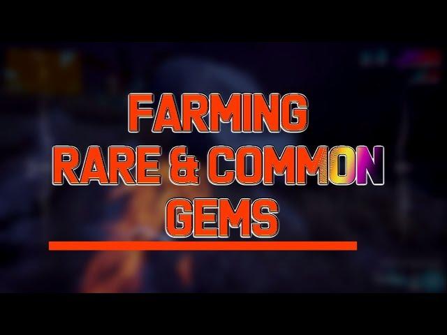 Warframe: Farming Nyth & Sentirum + All Other POE Gems
