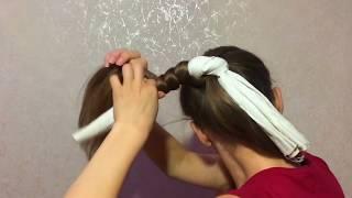 видео Как СПЯТ мои ВОЛОСЫ: Как ЗАПЛЕСТИ волосы НА НОЧЬ? Mynutca