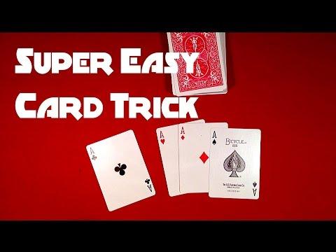 Видео: Super Easy Beginners Card Trick