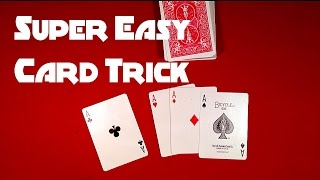 Super Easy Beginners Card Trick!