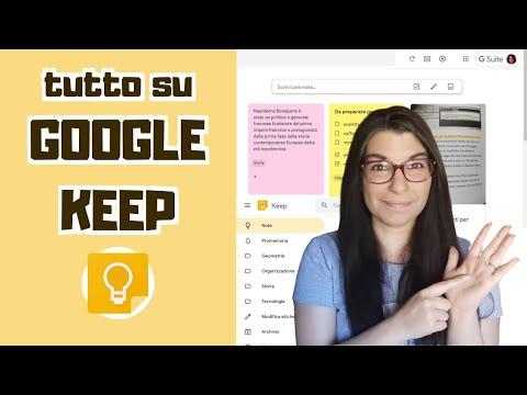Tutto su Google Keep: note, disegni e registrazioni a portata di mano