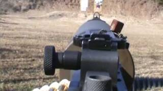 Shooting the Browning M1917 Machine Gun