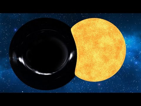 BLACK HOLE VS SOLAR SYSTEM - Universe Sandbox²