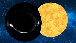 BLACK HOLE VS SOLAR SYSTEM - Universe Sandbox²