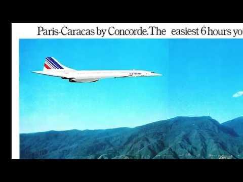 Concorde landing at Caracas / Venezuela - 1976