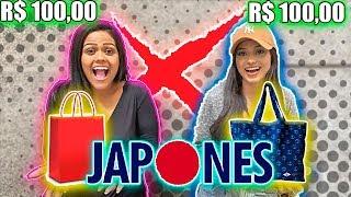 DESAFIO DOS 100 REAIS NA LOJA DE JAPONES  !!!