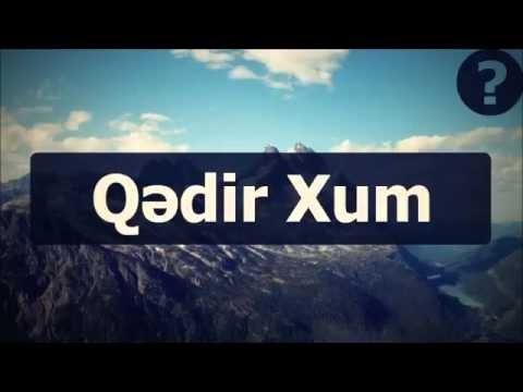 Qədir Xum ¦¦ Abu Zeyd-in Qədir Xum barədə şübhələrinə cavab. Rəddiyyə-7 bəhsin ardı...