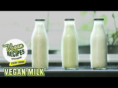 3 Types of Vegan Milk | How To Make Non-Dairy Milk At Home | Vegan Series By Nupur | Rajshri Food