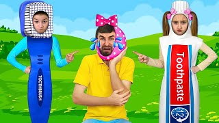 The Dentist Song for Kids. Sasha and Funny Stories about Going to the Doctor