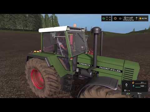 Farming Simulator 17  Timelapse #1 | Baltic Sea With seasons.