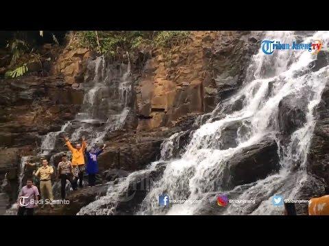 Curug Kanoman di Desa Wisata Gringgingsari Batang