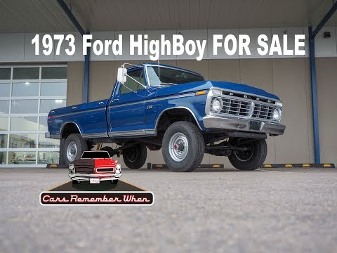 1973 Ford Highboy FOR SALE 360 4-Speed 4x4