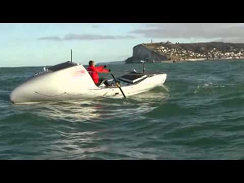 ITV Serge présentation du bateau Soma, Tour du Monde, 3 Océans en ramant et 3 continents en courant