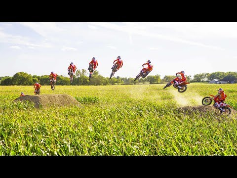 How a cornfield turned into a motocross track. | Homegrown BTS with Ryan Dungey