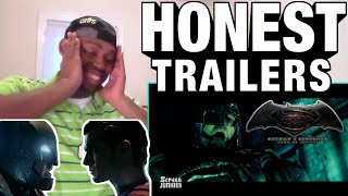 THEY ON POINT!!! Honest Trailers - Batman v Superman: Dawn of Justice REACTION!!!
