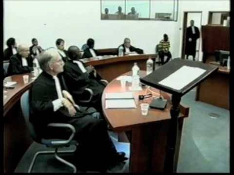 David Crane Opening Statement, Special Court for Sierra Leone (2004)