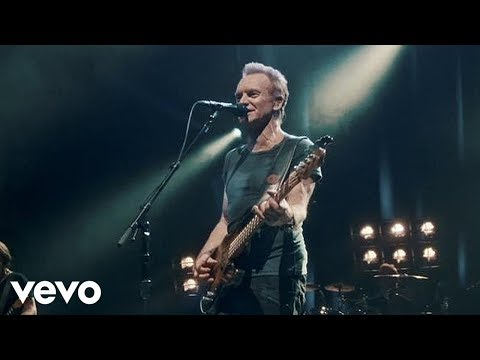 Sting  Message In A Bottle  At The Olympia, Paris