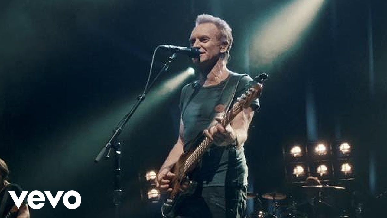 Sting Message In A Bottle Live Youtube