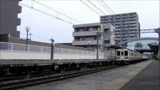 高崎問屋町駅 107系と蒸気機関車C61+旧型客車