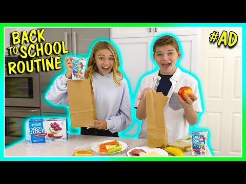 OUR BACK TO SCHOOL ROUTINE | NEW SCHOOLS! | We Are The Davises