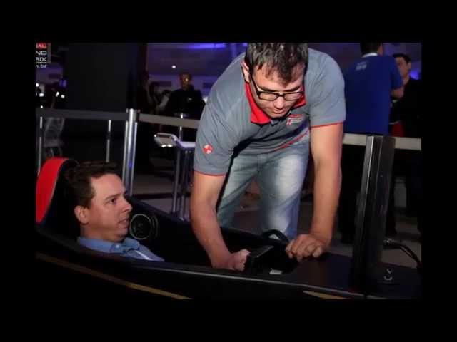 Simuladores de Fórmula 1 ICX Soluções