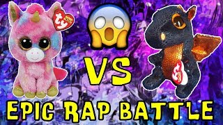 Beanie Boos Epic Rap Battle Fantasia vs Merlin Unicorn vs Dragon