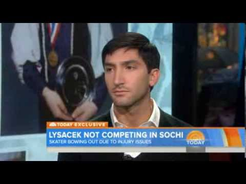 Evan Lysacek: I will not compete in Sochi