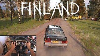 BMW E30 M3 Evo   Dirt Rally   Steering Wheel + Shifter   Gameplay PC