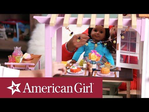 Blaire's Family Farm Restaurant First Look | Designer Room | @American Girl