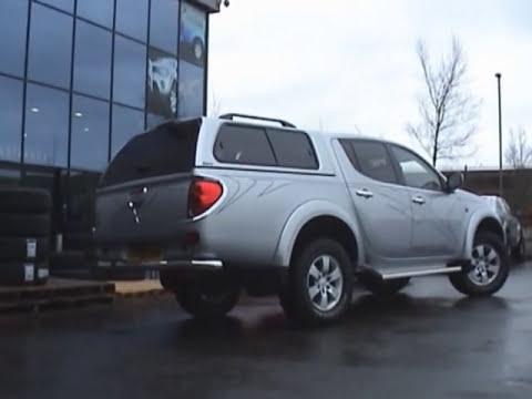 Mitsubishi L200 Long Bed Aeroklas Truck top Canopy Installation