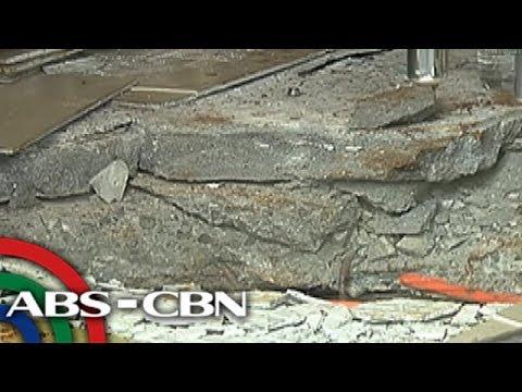 TV Patrol: Bangko, nilooban sa QC; mga suspek, dumaan sa manhole