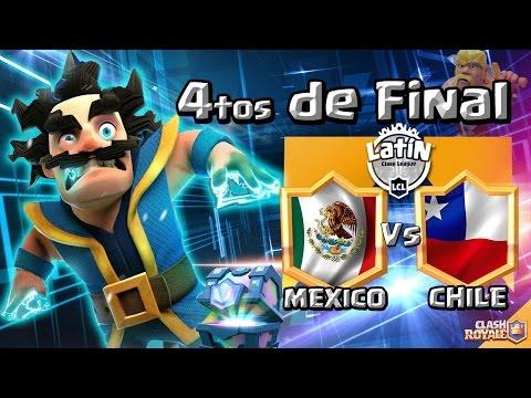 Clash Royale | Mexico vs Chile | 4tos de Final de la LATIN CLASH LEAGUE | Fly comentando