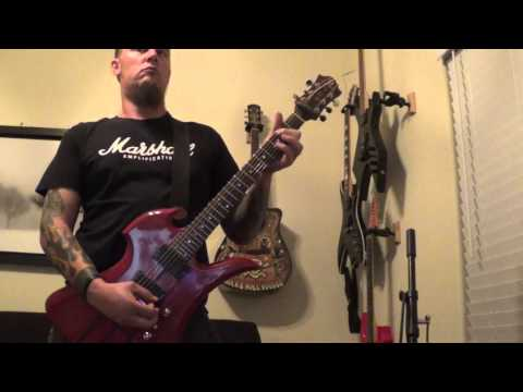 Entombed - Wolverine Blues guitar cover