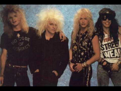 Poison Nothing but a good time guitar backing track with vocals