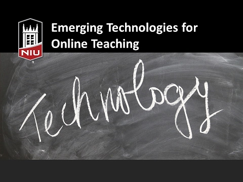 Emerging Technology for Your Online Course