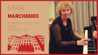 Мастер-класс зав. отделением спец. фортепиано М.А. Марченко в рамках II Летней школы ЦМШ.