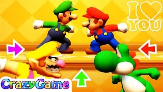 Mario Party The Top 100 - Don't Love w/ other Minigames Gameplay
